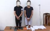 被捕的兩名嫌犯。(圖源:警方提供)