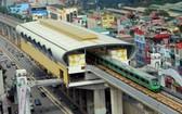 吉靈-河東鐵路項目一瞥。(圖源:Hanoimetro)