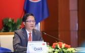 越南工商部長陳俊英主持會議。(圖源:光福)
