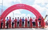 隆安省新安橋通車儀式。(圖源:PLO)