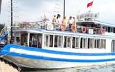 違規的海英10號遊船被停業90天。(圖源:PV)