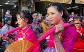 帶有華人傳統特色的遊行節目。