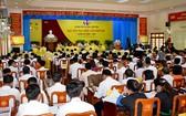 安沛省文安縣黨部2020-2025年任期第十六次大會現場。(圖源:安沛新聞網)