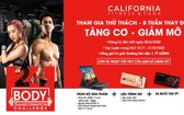 California健身與瑜伽中心宣傳海報圖。
