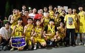 新平郡男子隊奪得16-18年齡男子組冠軍。