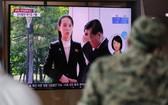 韓國政府14日就朝鮮勞動黨第一副部長金與正前一天發表談話暗示將關閉韓朝聯絡辦公室並採取軍事行動一事深表憂慮。(圖源:AP)