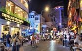 圖為本市第一郡裴援步行街夜色一瞥。(圖源:TNO)