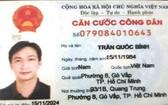 圖為涉事的陳國平公民證。(圖源:警方提供)