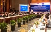 越南歐洲企業對話會現場一隅。(圖源:瓊楊)