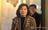 朝鮮外務省第一副相崔善姬。 (圖源:韓聯社)