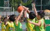 小學組進行比賽。
