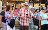 今年上半年前來本市的國際遊客量約達130萬人次,同比減少69.3%。(圖源:VNE)