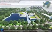 圖為市國立大學公共服務中心設計效果圖。(圖源:視頻截圖)