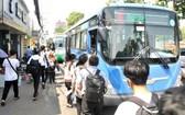 乘搭公交車有助減少空氣污染。