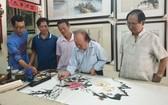 五位華人畫家創作交流