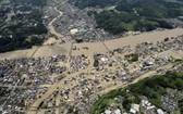 日本南部九州島區域近日暴雨成災,引發洪水和泥石流,。 (圖源:路透社)
