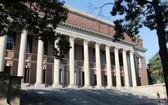 美國馬薩諸塞州劍橋市哈佛大學校園。(圖源:新華社)
