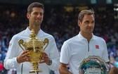 去年溫網決賽,一號種子的德約科維奇與二號種子費德勒會師決賽,最終德約取勝。(圖源:互聯網)