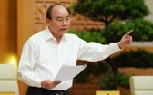 政府總理阮春福主持會議。(圖源:光孝)