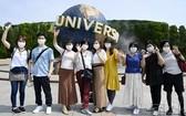 日本環球影城開始接待全國遊客。(圖源:共同社)