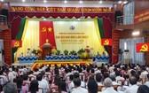 平福省同柴市2020-2025年任期第五屆黨部代表大會場景。(圖源:黃北)