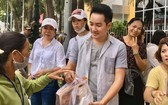 慈善團在115醫院展開慈善活動。