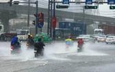 今年8月初,因受東海的熱帶低氣壓影響,導致廣大面積降雨,尤其是清化至承天-順化省地區。(示意圖源:互聯網)