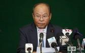 柬埔寨衛生部部長蒙文興。(圖源:柬中時報)