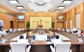 國會常委會決定暫緩原定於本月11日國會常委會第47次會議舉行的質詢活動。圖為國會常委會上一次會議現場。(圖源:CTV)