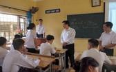 教育部檢查考試準備工作。(圖源:清春)