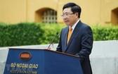 我國外交部長范平明代表2020年東盟輪值主席國發表演講。(圖源:越通社)