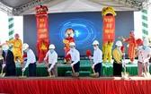 Apec Golden Valley芒羅商旅都市區項目動工儀式。(圖源:安沛報)