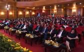 越南廣播電台黨部代表大會開幕現場。(圖源:VOV)