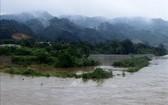 老街省的操河水位有可能快速上漲,並達二級警戒線。(圖源:越通社)