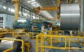 南方鋼鐵公司的鋼鐵生產線。