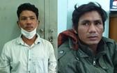 被捕的 2 名殺人嫌犯山桔(左圖)及金崔。(圖源:警方提供)