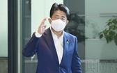日本首相安倍晉三。(圖源:共同社)