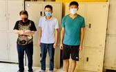 被拘捕的3名嫌犯。(圖源:警方提供)