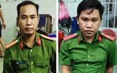 冒充公安企圖搶奪財物的2名歹徒被拘捕。(圖源:警方提供)