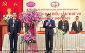 市人委會主席阮成鋒出席大會。(圖源:C.M)