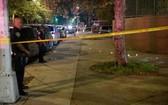 圖為紐約市一起槍擊案現場。(圖源:互聯網)