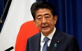 因健康亮紅燈而請辭卸任的日本首相安倍晉三。(圖源:互聯網)