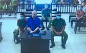 8月17日,涉案被告人阮春棠出庭受審。(圖源:視頻截圖)