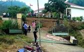 校門倒塌事故,造成 3名小學生當場死亡。(圖源:TNO)