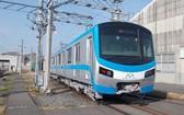 濱城-仙泉地鐵1號線的首輛列車將於10月運抵本市。(圖源:HCMC Metro)