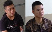 2名涉事嫌犯被捕,左圖為謝金慶,右圖為阮光成。(圖源:瓊江)
