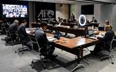 亞洲足協常務委員會舉行線上會議。(圖源:互聯網)