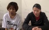被扣押的2名嫌犯汪氏梅(左圖)與汪氏莊。(圖源:警方提供)