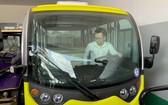 芽莊市以電車緩解交通堵塞。(圖源:明元)