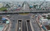 安霜隧道交通樞紐19日正式投入使用。(圖源:高昇)